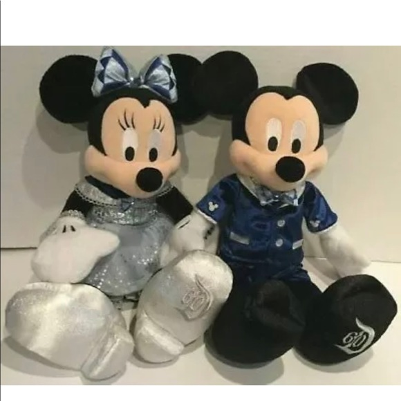 DISNEYLAND 60th ANNIVERSARY Mickey & Minnie Mouse